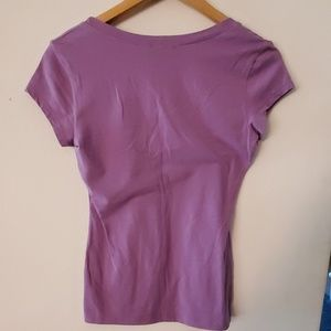 bebe Tops - Bebe Purple T Shirt - M